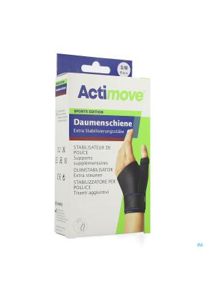 Actimove Sport Thumb Stabilizer Black S/m 14188041-20