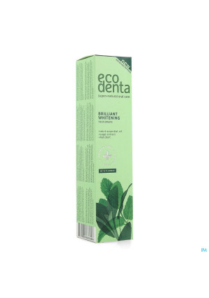 Eco Denta Whitening Tandpasta Ess. Olie Munt 100ml4216255-20