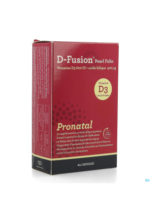 D-fusion Pearl Folic Caps 844220570-20