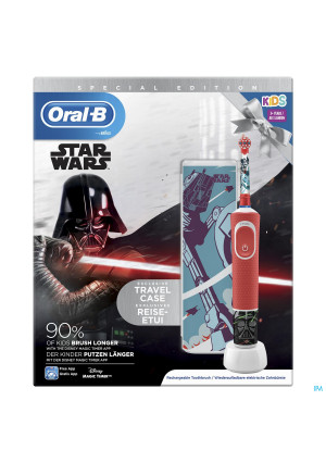Oral B D100 Star Wars + Travelcase Gratis4234399-20