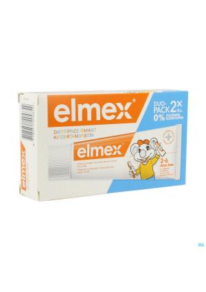 Elmex Tandpasta Kind 2-6 Jaar 2x50ml4240354-20