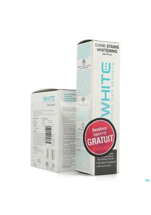 Iwhite Dark Stains 10 + Tandpasta Whitening 75ml4283933-20