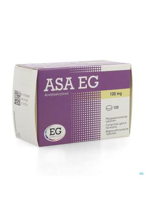 Asa 100 Eg Comp Maagsapresistent 100 X 100mg Blist4287314-20