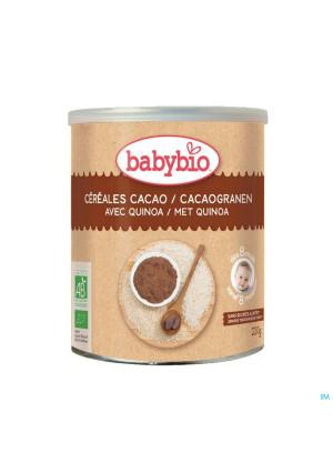 Babybio Cacaogranen Quinoa 8m 220g4364626-20
