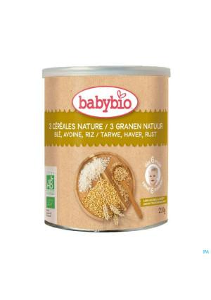 Babybio 3 Granen Natuur 6m 220g4364642-20