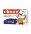 ELMEX® KINDERTANDPASTA TUBE 2x50ML3535085-02