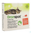 Dronspot 60mg/15mg Spot-on Kat Medium>2,5-5kg Pip24131843-01